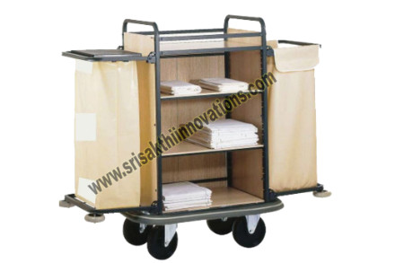 House Keeping Linen Trolly