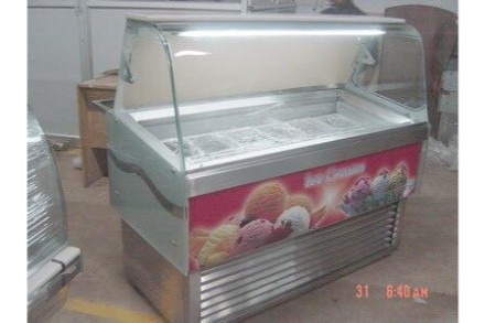 Display Ice Cream Chiller